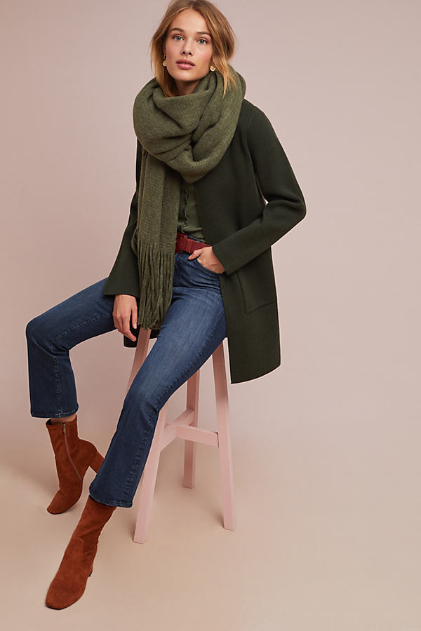 Tamie Coat - Green, Size M