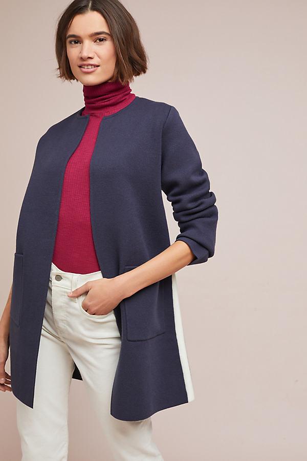Tamie Coat - Blue, Size Xs