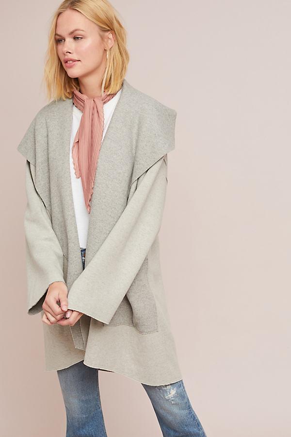 Ingrid Sweater Coat - Beige, Size M