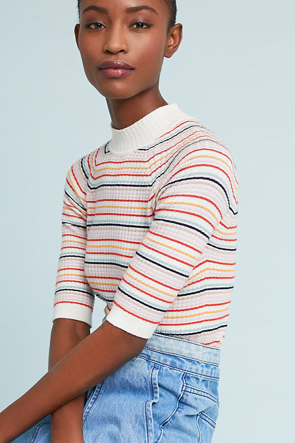 Cassidy Striped Pullover Top - Assorted, Size Xl