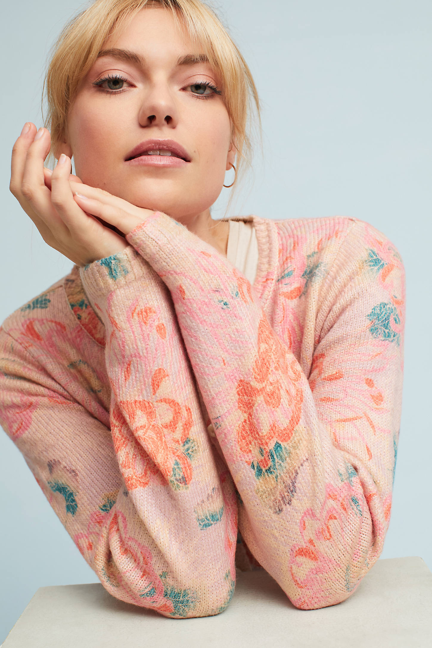 Devon Printed Cardigan