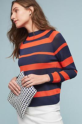 Slide View: 1: Carlen Striped Sweater