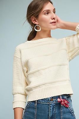 Slide View: 1: Arukena Cropped Sweater