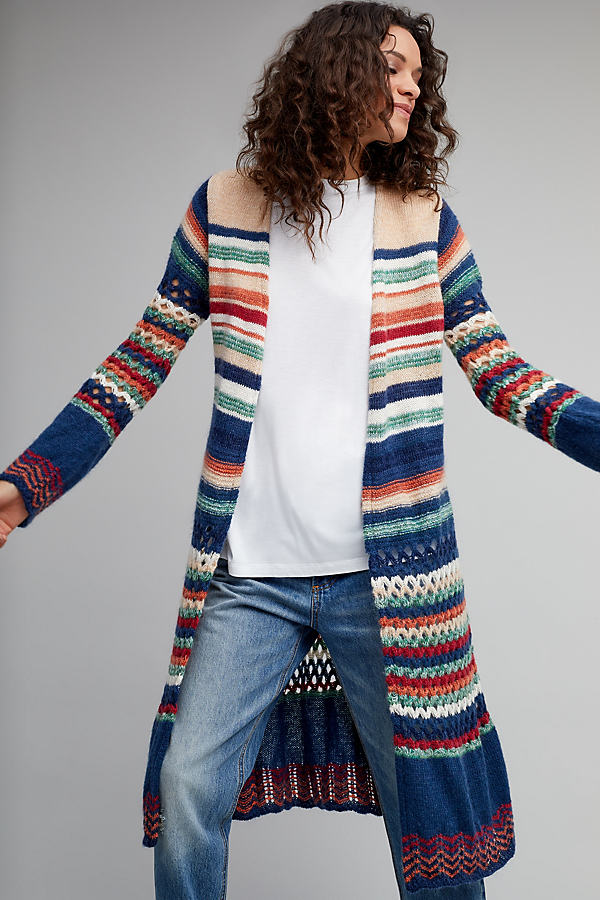 Winfrey Crochet Cardigan - A/s, Size M