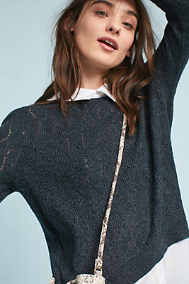 Slide View: 1: Serena Layered Pullover