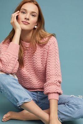Ceri Pointelle Sweater  257 c8e2a5fa7