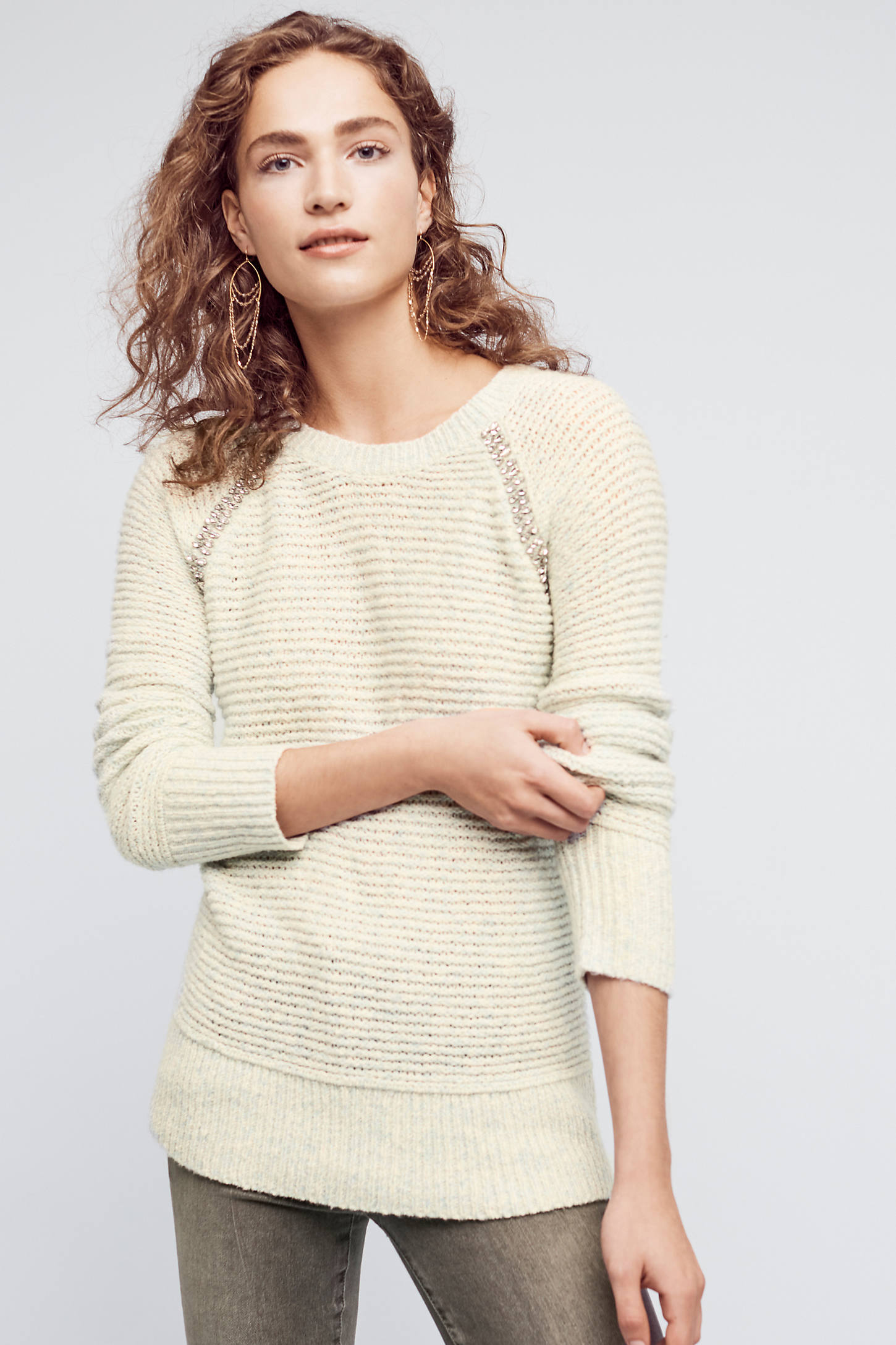 Bejeweled Pullover