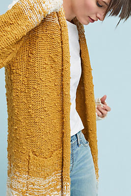 Slide View: 1: Space-Dyed Cardigan