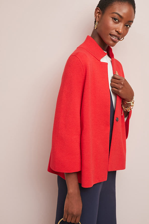 Nomi Blazer - Red, Size Xl