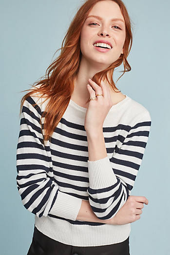 Blaine Striped Pullover