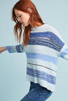 Slide View: 1: Rails Striped Sweater