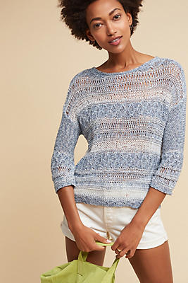Slide View: 1: Keila Stitched Pullover