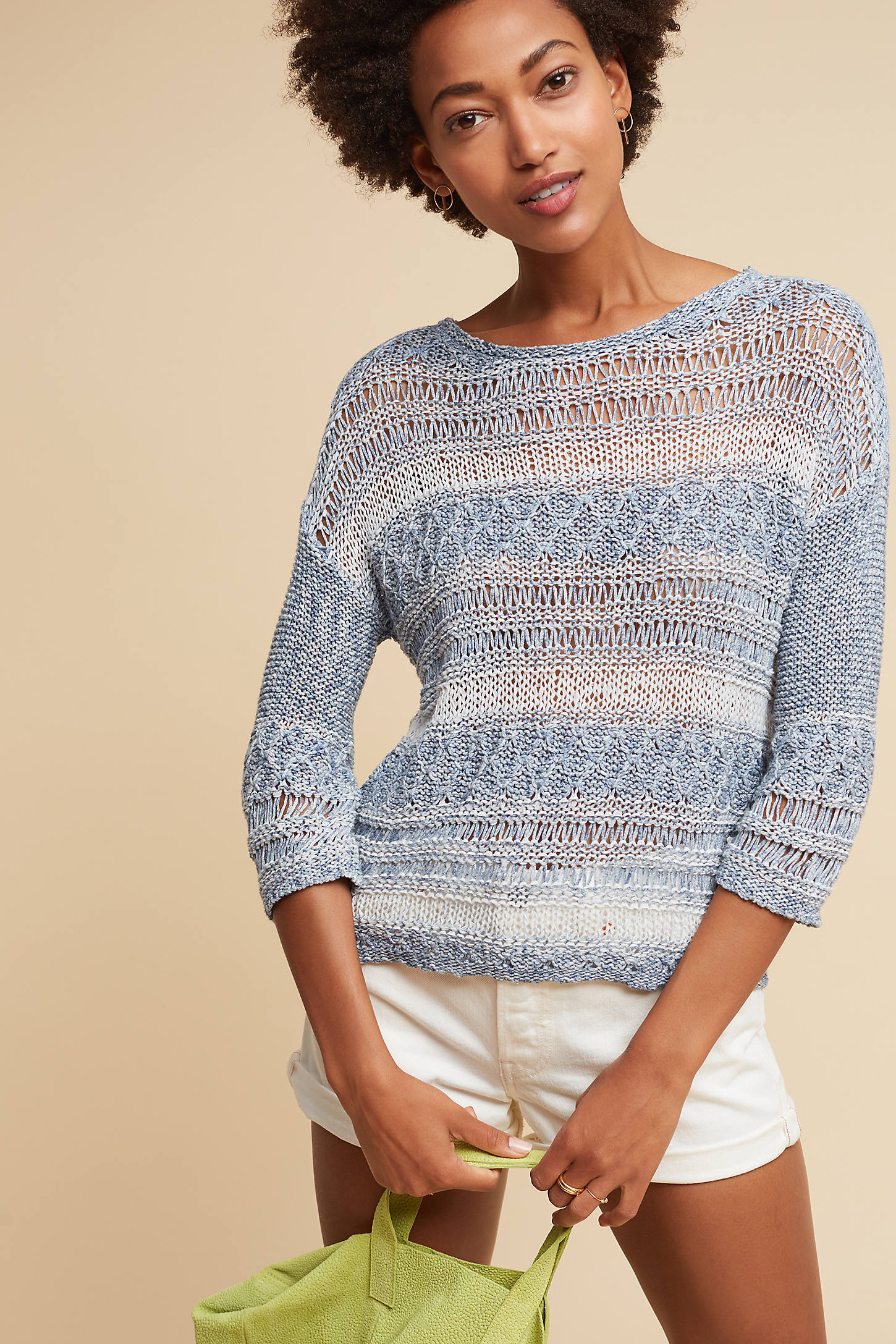 Keila Stitched Pullover