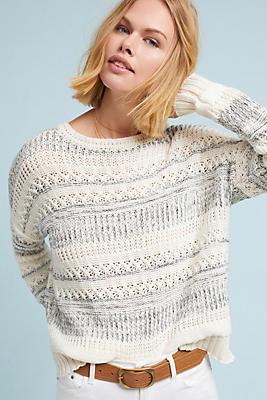 Slide View: 1: Selah Striped Pullover
