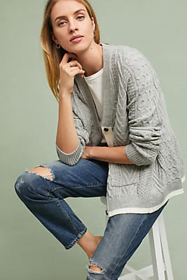 Slide View: 1: Swing Cable Cardigan