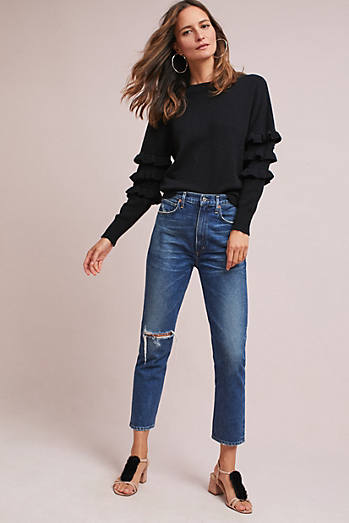 Eina Ruffled Jumper