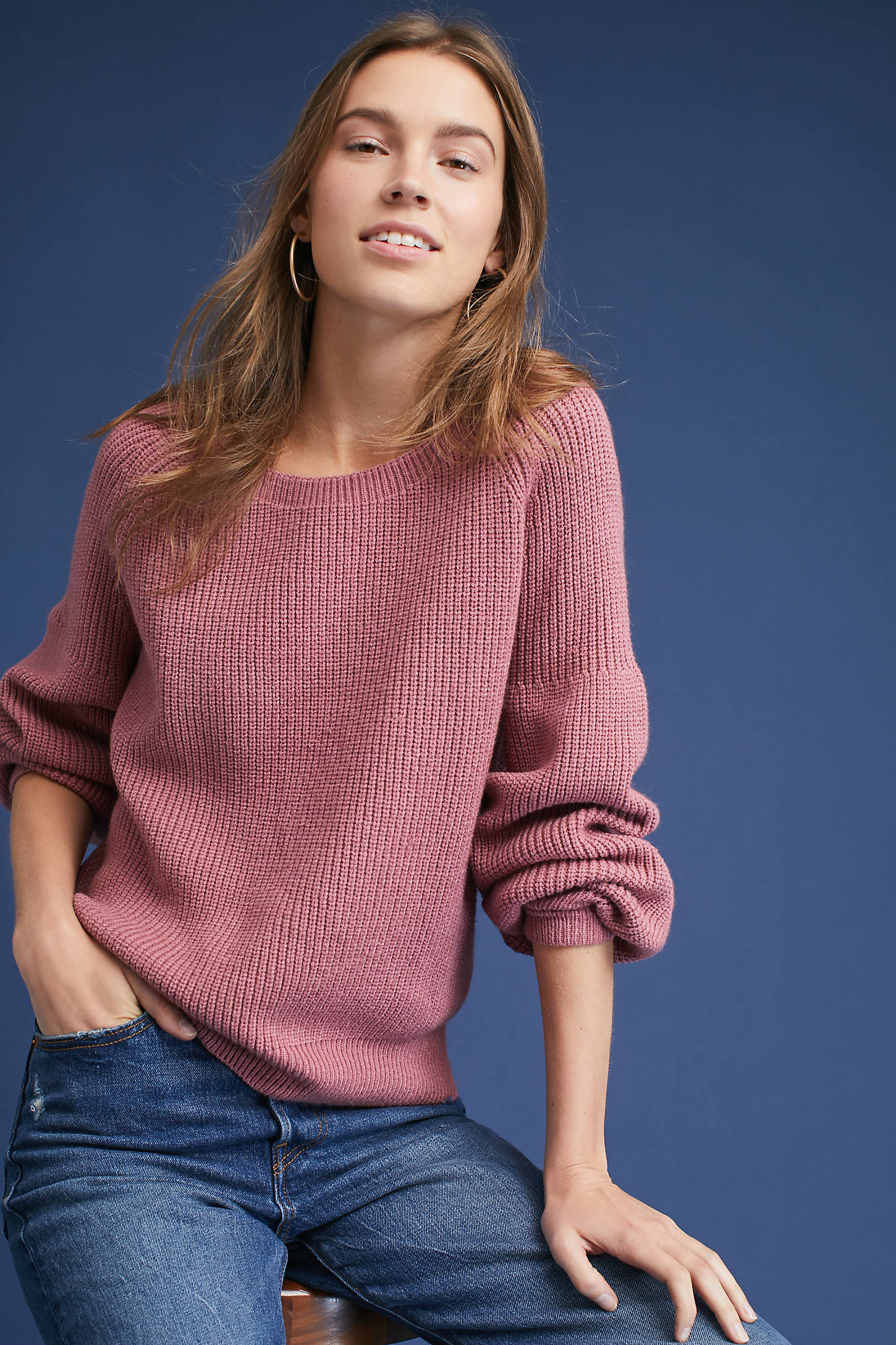 Harley Boat Neck Sweater