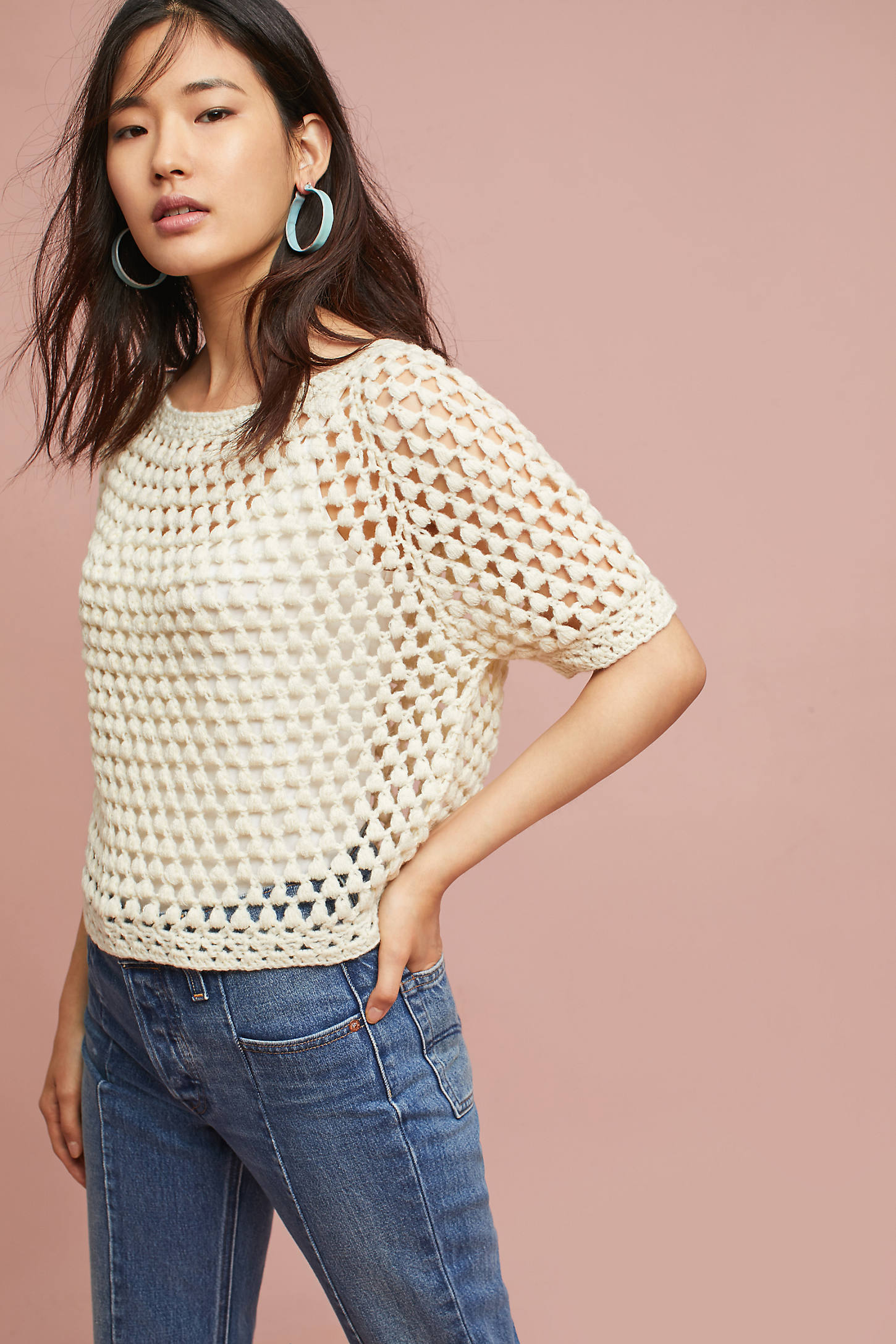 Crocheted Pullover