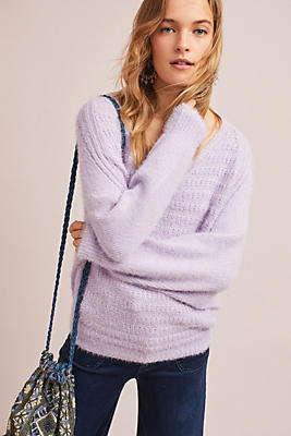 Slide View: 1: Cortina Eyelash Pullover