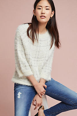 Slide View: 1: Brighton Plaid Pullover