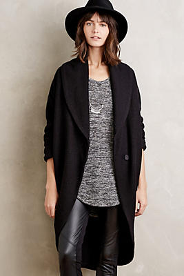 Windsor Boiled Wool Sweater Coat Anthropologie