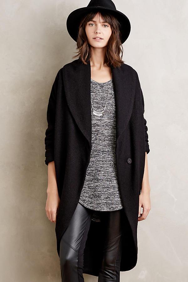 Windsor Boiled Wool Sweater Coat | Anthropologie