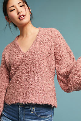 Slide View: 1: Jill V-Neck Pullover