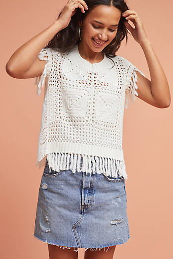 Louisa Crocheted Top