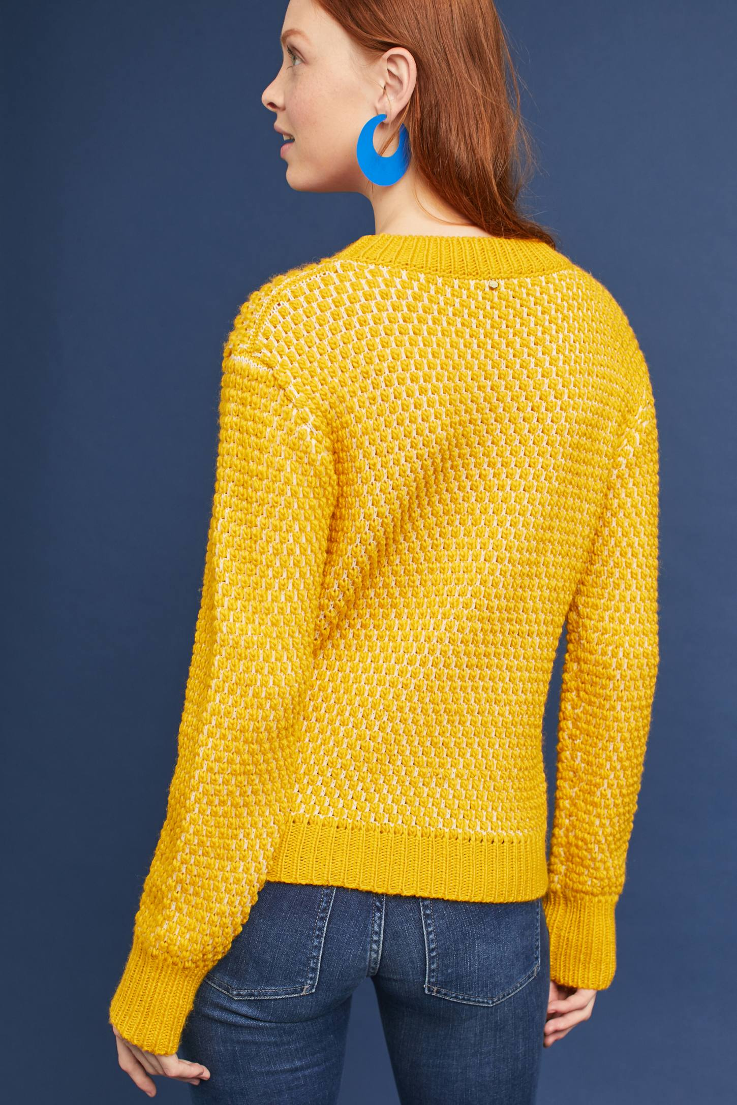 Chaud Sweater, Yellow | Anthropologie