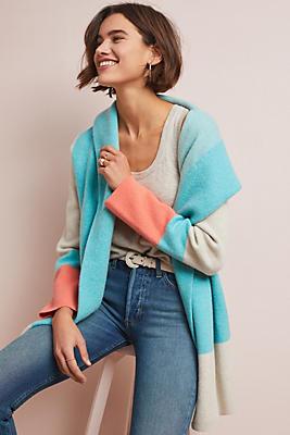 Slide View: 1: Hooded Alpine Sweater Coat