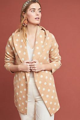 Slide View: 1: Dottie Sweater Coat