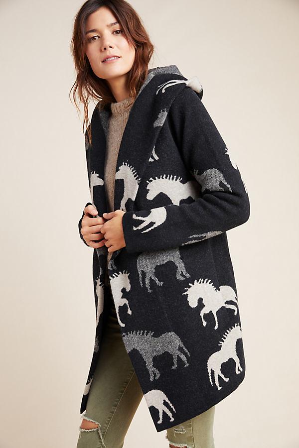Sedona Wool Sweater Coat - Assorted, Size M
