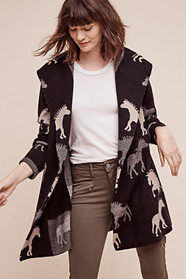 Dressage Sweater Coat | Anthropologie