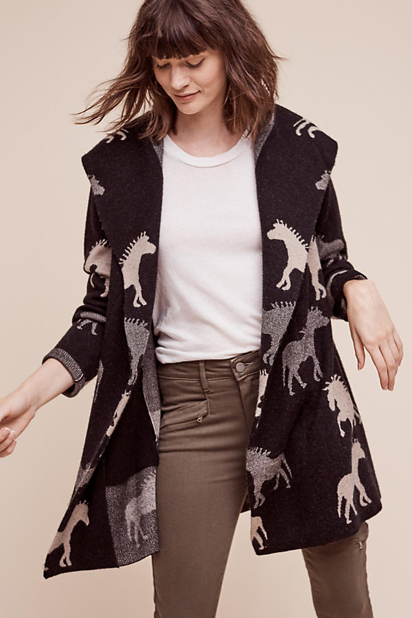 Dressage Sweater Coat | Anthropologie