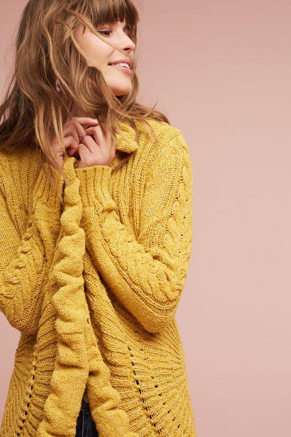 Rosie Neira Circle-Knit Cardigan