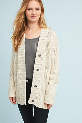 Slide View: 1: Dee Buttoned Cardigan