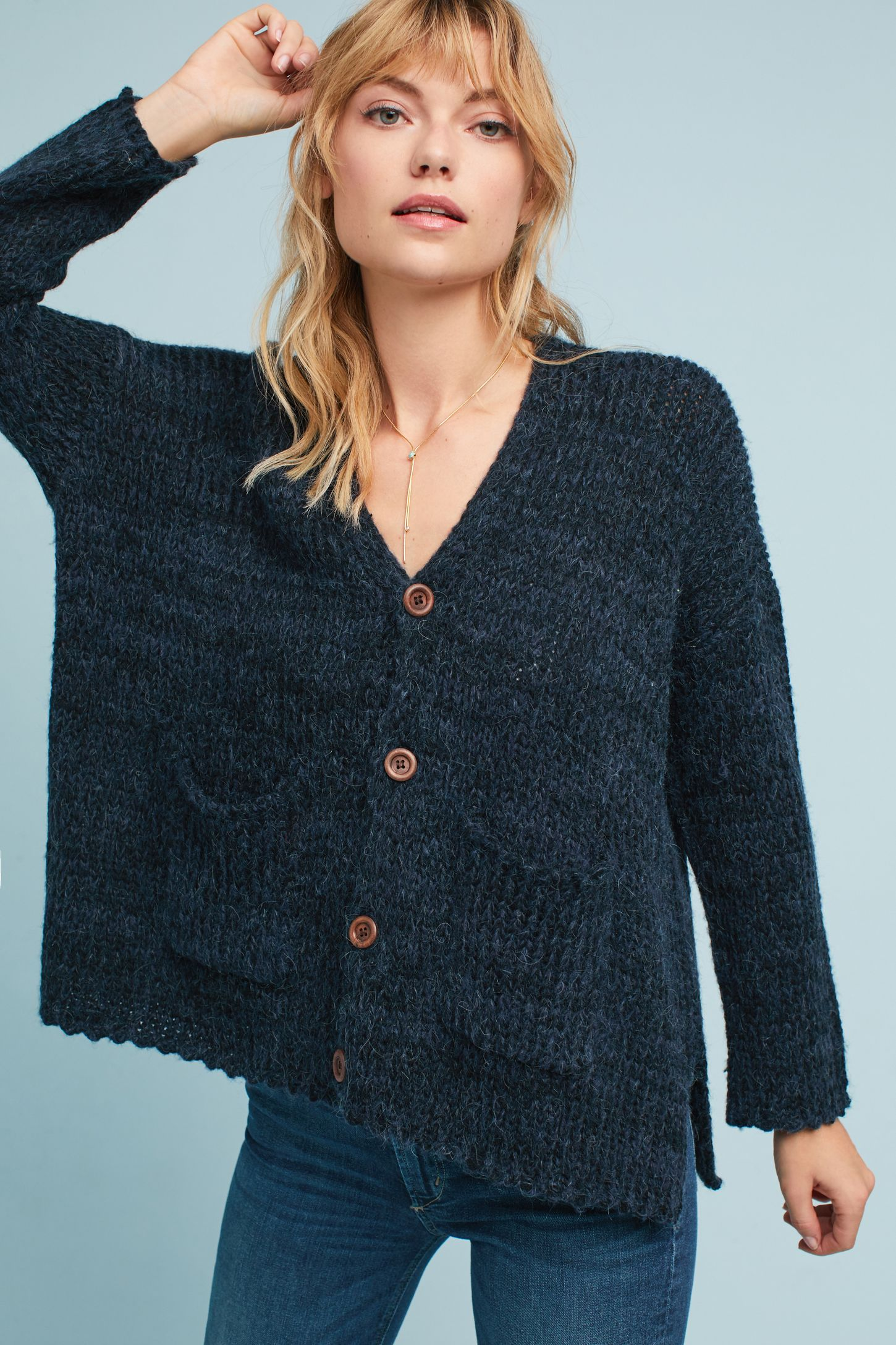 Blue - Cardigan Sweaters & Duster Cardigans | Anthropologie