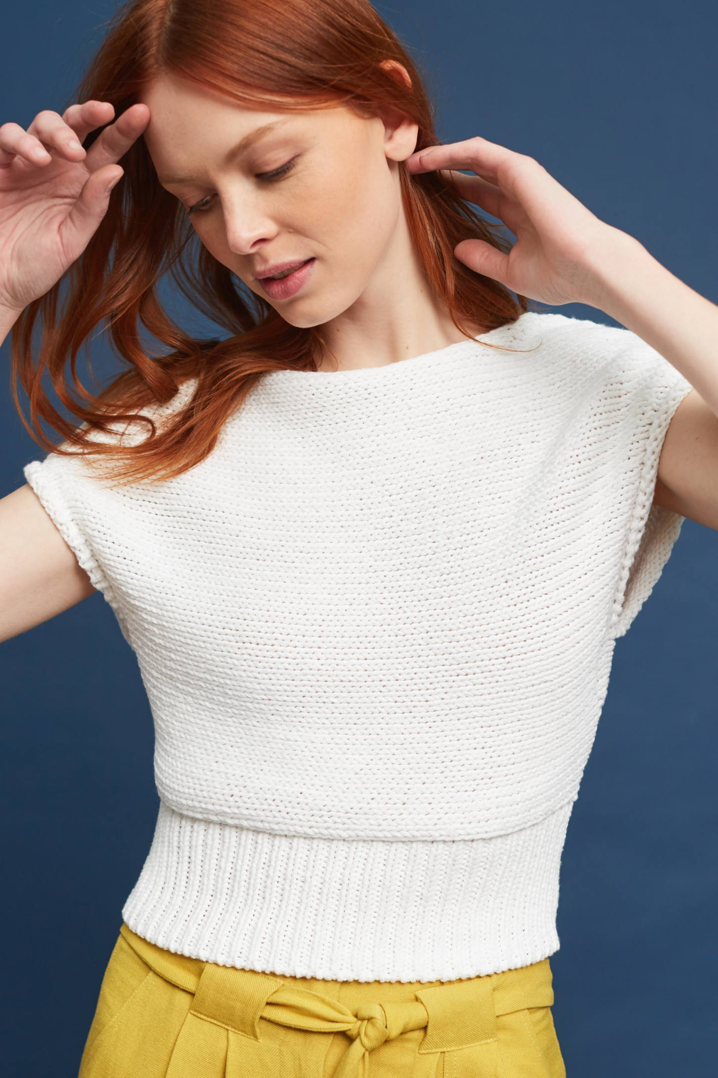 Slide View: 1: Cropped Riverwalk Pullover