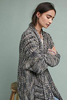 Slide View: 2: Kristie Ribbed Cardigan