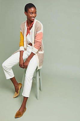 Slide View: 1: Colwood Colorblock Cardigan