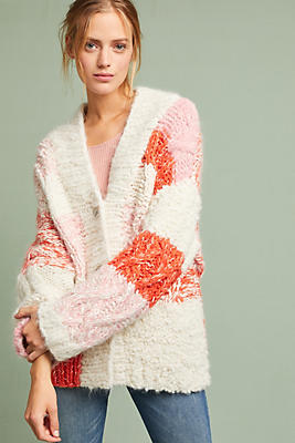Pastel Striped Cardigan | Anthropologie