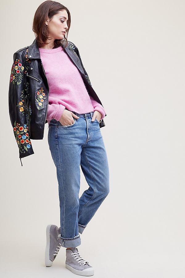Sidsel Melange Jumper - Pink, Size S