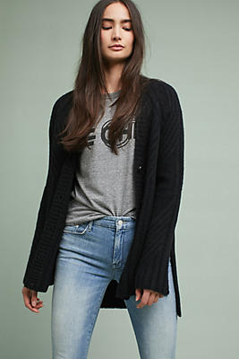 Slide View: 1: High-Low Cardigan