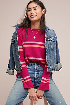Slide View: 1: Melange Cashmere Sweater