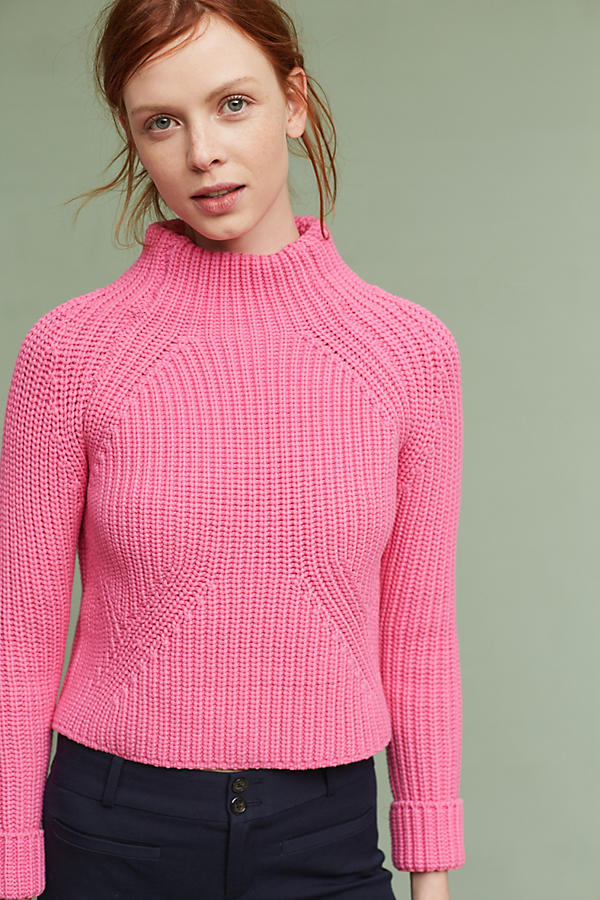 Slide View: 1: Leysa Cropped Jumper
