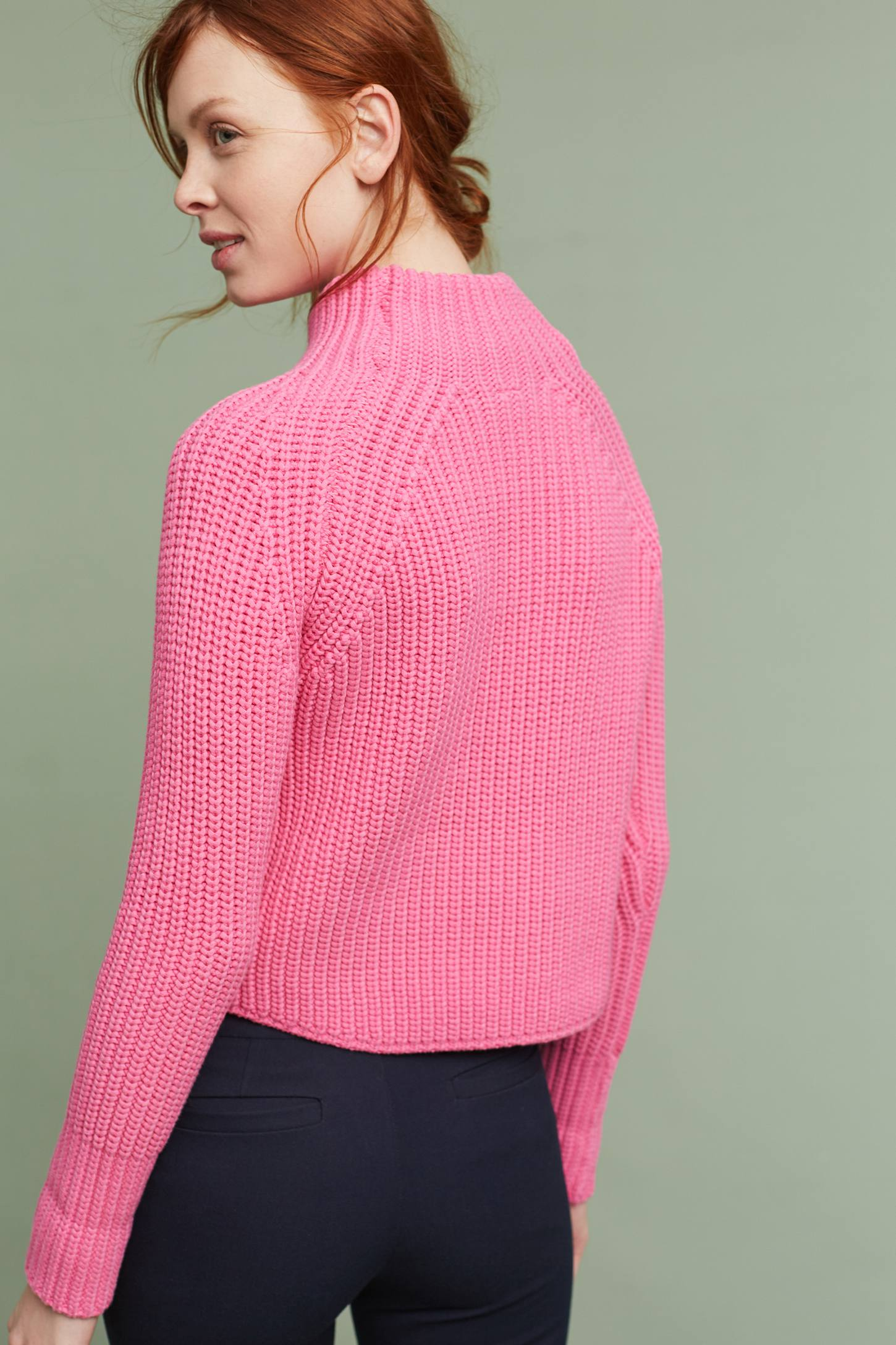 Slide View: 3: Leysa Cropped Jumper