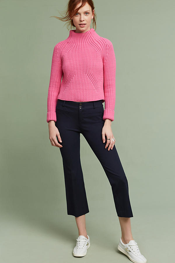 Slide View: 4: Leysa Cropped Jumper