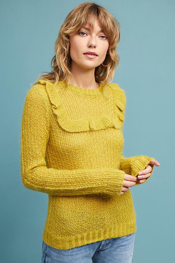 Telluride Sweater - Yellow, Size M