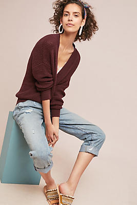 Slide View: 1: Cassidy Wrapped Pullover