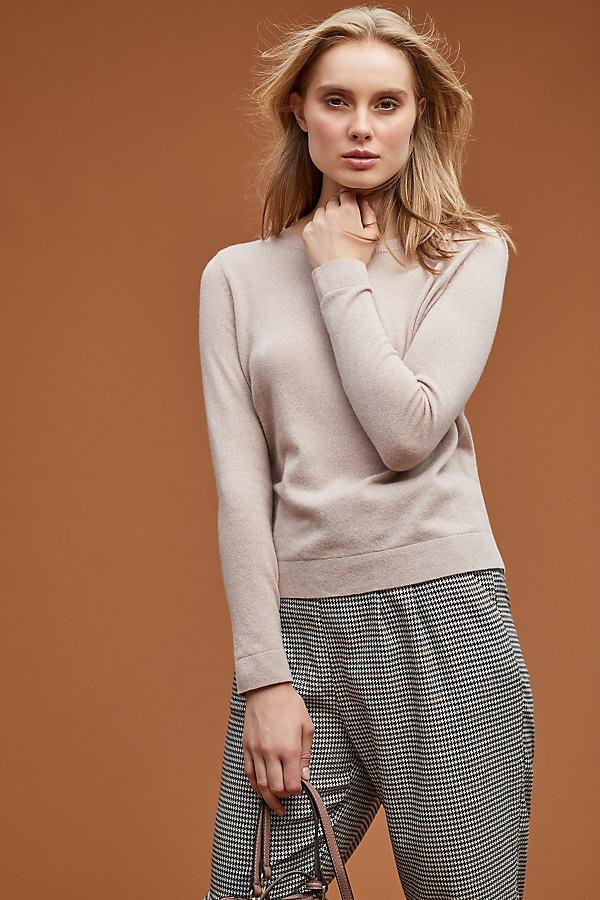 Selected Femme Cashmere Jumper - Beige, Size L